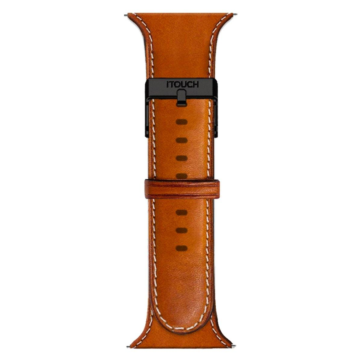 iTouch Air SE Leather Strap: Cognac