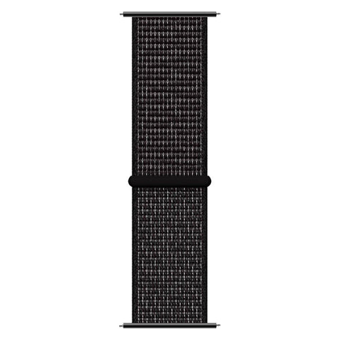 iTouch Sport Woven Nylon Strap: Black