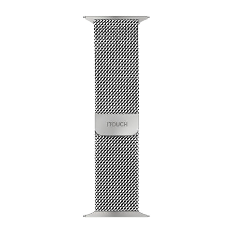 iTouch Sport Metal Mesh Strap: Silver