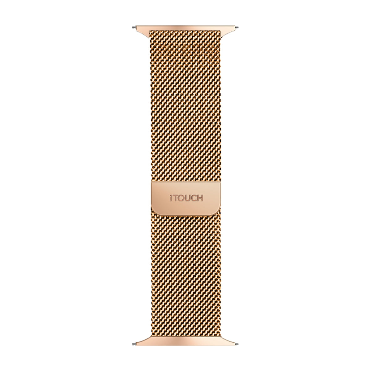 iTouch Sport Metal Mesh Strap: Rose Gold