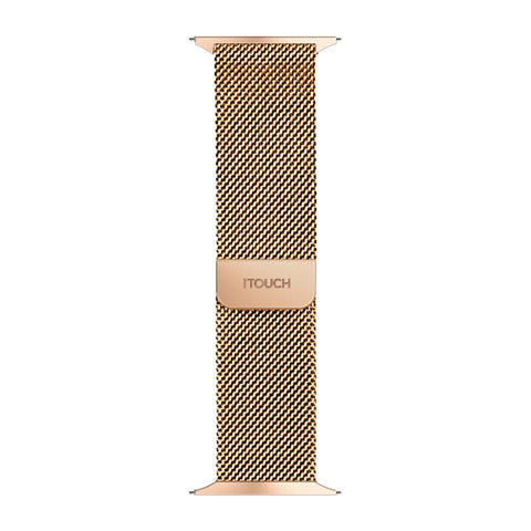iTouch Air SE Metal Mesh Strap: Rose Gold