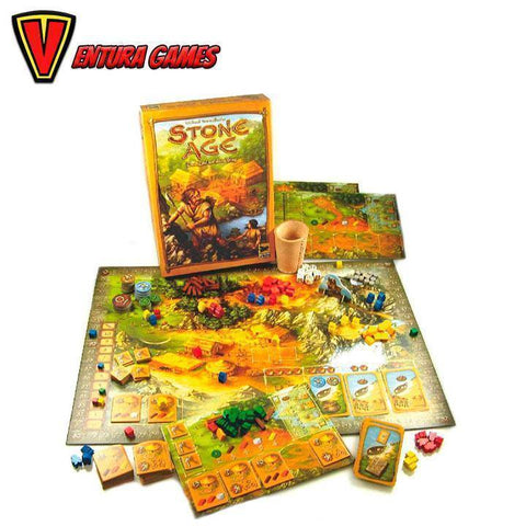 Stone Age - Board Game - Ventura Games