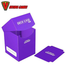 Ultimate Guard Deck Case 100+ Standard Size Purple - Ventura Games