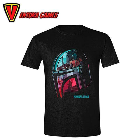 Star Wars The Mandalorian T-Shirt Reflection - Ventura Games