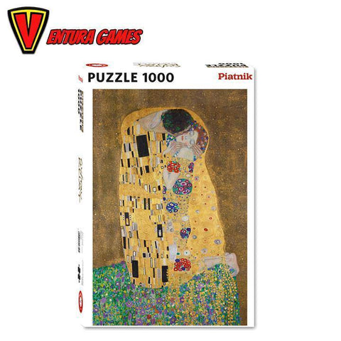 Klimt Gustav - The Kiss Puzzle (1000 pieces)