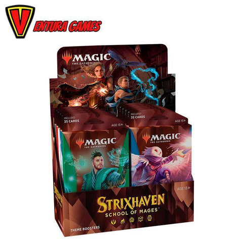 Strixhaven: School of Mages Theme Booster Box - Ventura Games