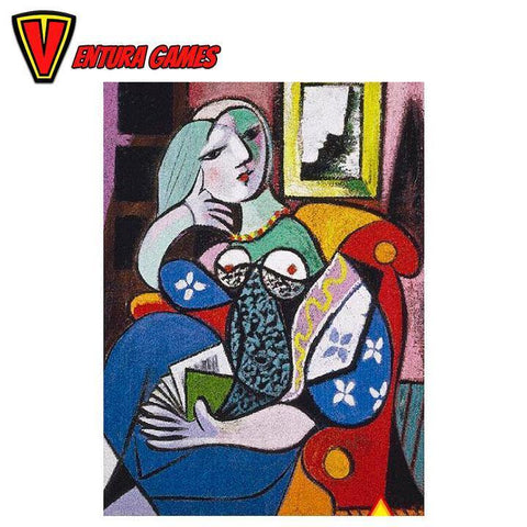 Picasso - Lady with Book Puzzle (1000 pieces)