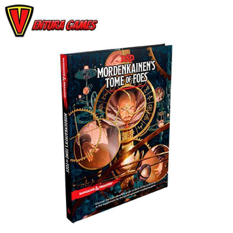 Dungeons & Dragons RPG - Mordenkainen's Tome of Foes - Ventura Games