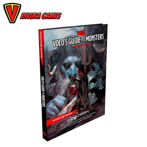 Dungeons & Dragons RPG - Volo's Guide to Monsters - Ventura Games