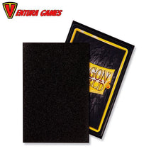 Dragon Shield Sleeves - Matte Jet (100 Sleeves) - Ventura Games