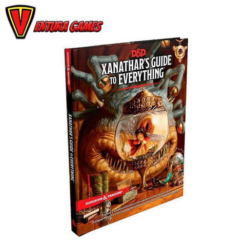 Dungeons & Dragons RPG - Xanathar's Guide to Everything - Ventura Games