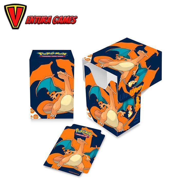 UP - Full View Deck Box - Pokemon Charizard - Ventura Games