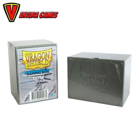 Dragon Shield Gaming Box - Silver - Ventura Games