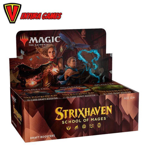 Strixhaven: School of Mages Draft Booster Box (36 Packs) - Ventura Games