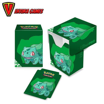 UP - Full-View Deck Box - Pokemon Bulbasaur - Ventura Games