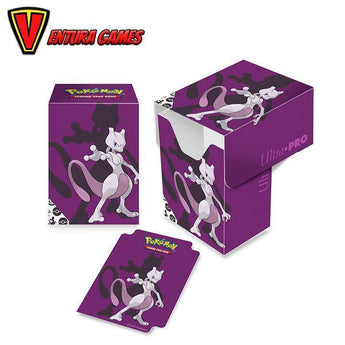 UP - Full-View Deck Box - Pokemon Mewtwo - Ventura Games