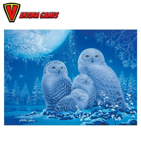 Ravensburger Puzzle - Owls in the Moonlight - 500pc - Ventura Games