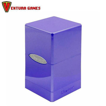 UP - Deck Box - Satin Tower - Amethyst - Ventura Games