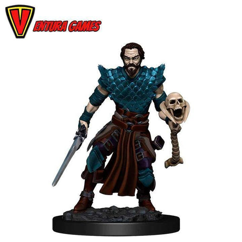 D&D Icons of the Realms: Premium Painted Figure - Human Warlock Male - Ventura Games