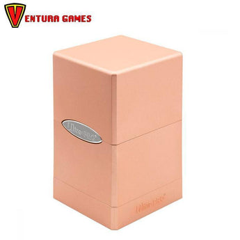 UP - Deck Box - Satin Tower - Metallic Rose Gold - Ventura Games
