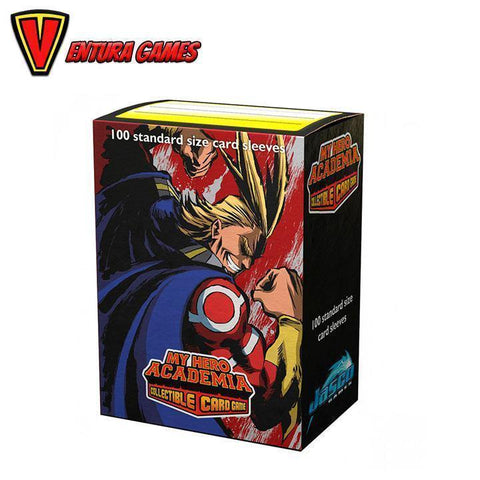 Dragon Shield Matte Art Sleeves - My Hero Academia - All Might Flex (100 Sleeves) - Ventura Games