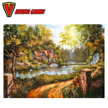 Cottage by the River Puzzle (500 pieces) - Ventura Games
