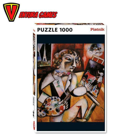 Puzzle - Marc Chagall with 7 fingers (1000) - Ventura Games