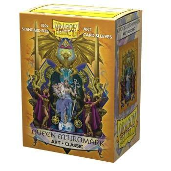 100 Dragon Shield Sleeves - Classic Queen Athromark - Ventura Games
