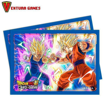 UP - Deck Protector Sleeves - Dragon Ball Super - Vegeta vs Goku