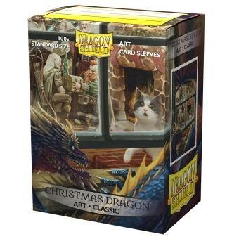 Dragon Shield Classic Art Sleeves - Christmas Dragon (100 Sleeves) - Ventura Games