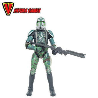 Star Wars Episode III: Revenge of the Sith - Commander Gree Black Series Action Figure - Ventura Games