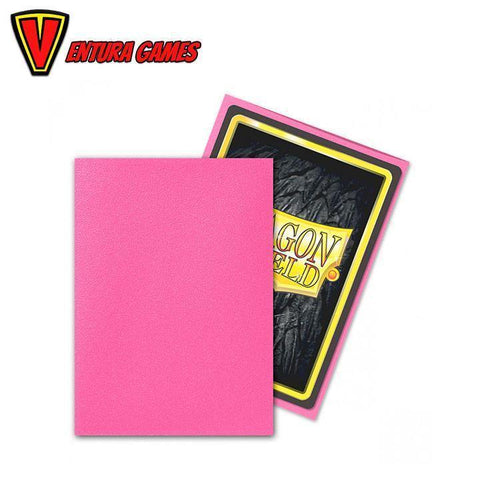 Dragon Shield Standard Sleeves - Pink Diamond (100 Sleeves) - Ventura Games