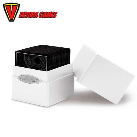 UP - Deck Box - Satin Cube - Arctic White