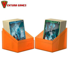 Ultimate Guard Boulder Deck Case 100+ Standard Size Poppy Topaz - Ventura Games