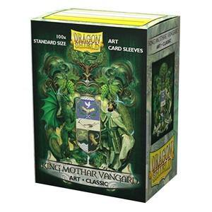 100 Dragon Shield Sleeves - Classic King Mothar Vangard - Ventura Games