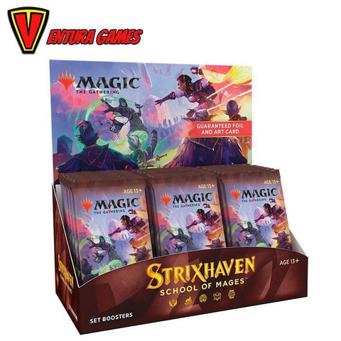 Strixhaven: School of Mages Set Booster Box (30 Packs)