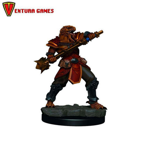 D&D Icons of the Realms Premium Figures: Male Dragonborn Fighter - Ventura Games