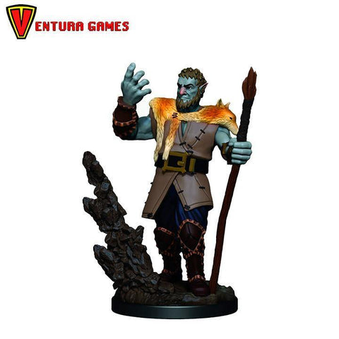 D&D Icons of the Realms Premium Figures: Male Firbolg Druid - Ventura Games