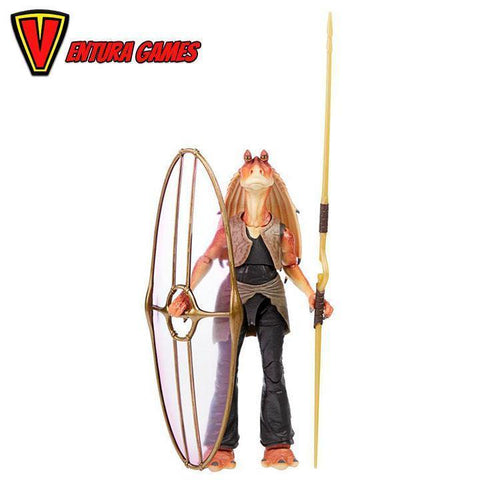 Star Wars The Black Series Jar Jar Bink Star Wars: The Phantom Menace Collectible Deluxe Action Figure