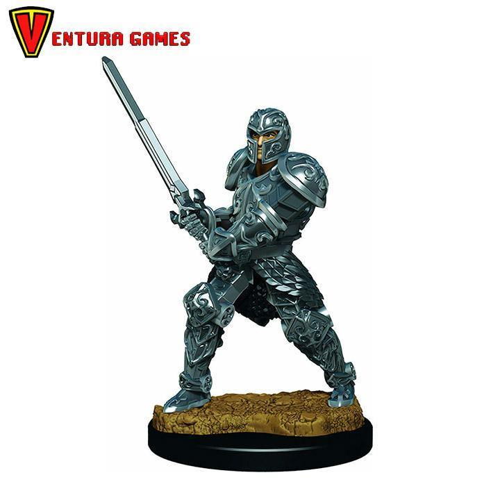 D&D Icons of the Realms Premium Figures: Male Human Fighter - Ventura Games