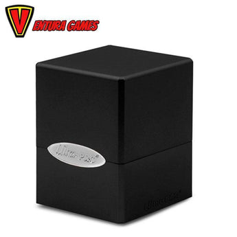 UP - Deck Box - Satin Cube - Jet Black