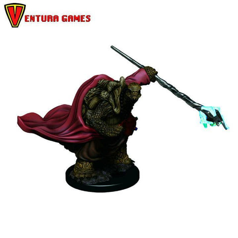 D&D Icons of the Realms Premium Figures:  Male Tortle Monk - Ventura Games