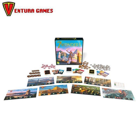 7 Wonders 2nd edition - Ventura Games