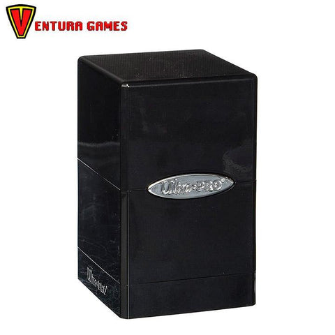 UP - Deck Box - Satin Tower - Hi-Gloss Midnight - Ventura Games