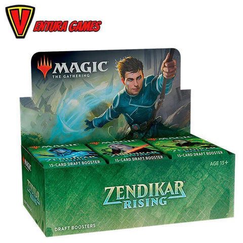 Magic The Gathering - Zendikar Rising - Draft Booster Box - Ventura Games