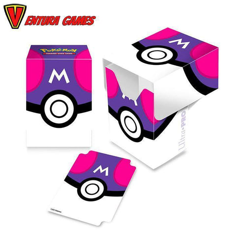 UP - Full View Deck Box Pokémon Master Ball - Ventura Games