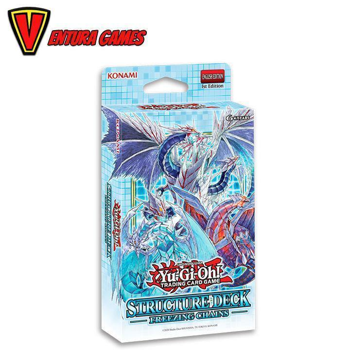 Yu-Gi-Oh! - Structure Deck - Freezing Chains - Ventura Games