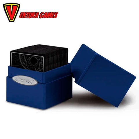 UP - Deck Box - Satin Cube - Pacific Blue - Ventura Games
