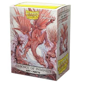 Dragon Shield Matte Art Sleeves - Essence of Insanity (100 Sleeves) - Ventura Games