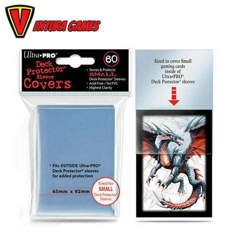 UP - Small Deck Protector Sleeve Covers (60 Sleeves) - Ventura Games